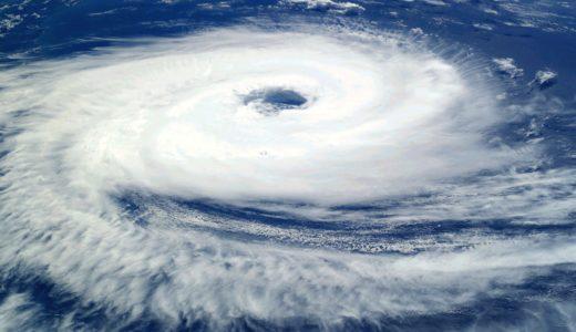 「台風」と「ハリケーン」規模の違い